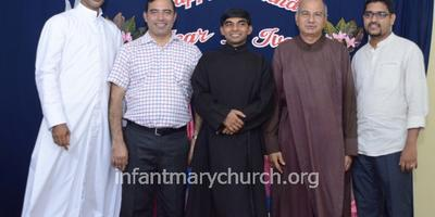 Birthday Celebration of Parish Priest Rev. Fr Ivan D'souza