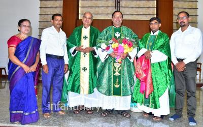 Felicitation and Farewell to former Superior, St Joseph's Monastery - Fr. Wilfred Rodrigues