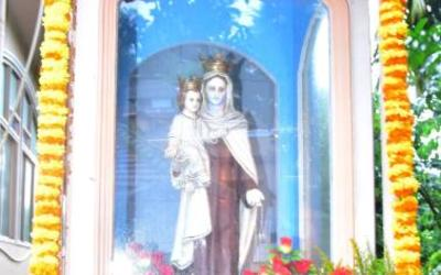 Our Lady of Mount Carmel honoured at Bajjodi
