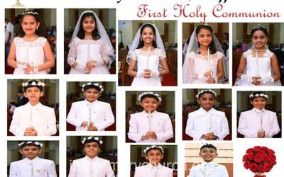 Joyous Moment in the Lives of 14 angels of Infant Mary Parish