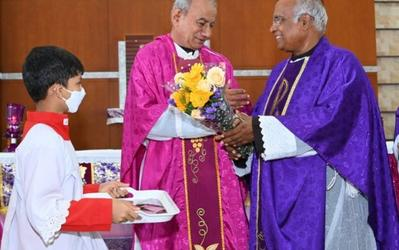 Catechism Day celebrated along with 76th Birthday of Fr. Patrick Lobo at Bajjodi